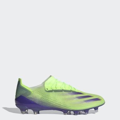 Voetbal Groen X Ghosted.1 Artificial Grass Voetbalschoenen