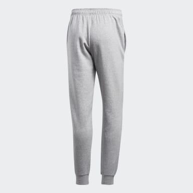 Men Training Grey Essentials Tapered Fleece Pants