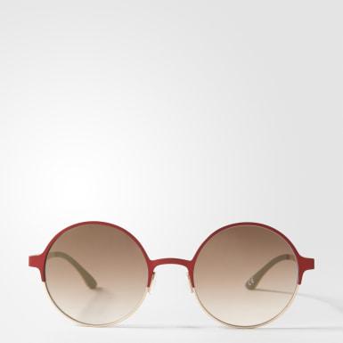 красный Солнцезащитные очки AOM004