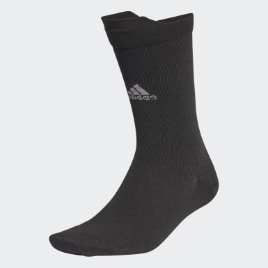 Training Black Alphaskin Ultralight Performance Reflective Crew Socks