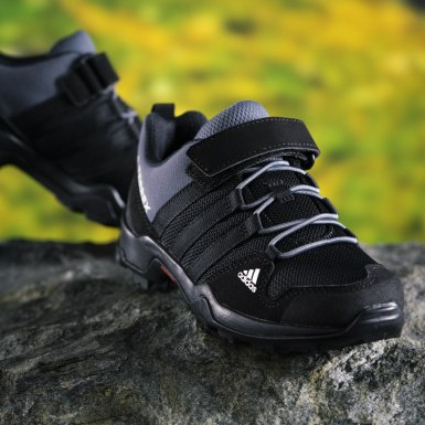 Children Outdoor Black Terrex AX2R CF Hiking Shoes