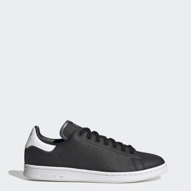 Men Originals Black Stan Smith Shoes