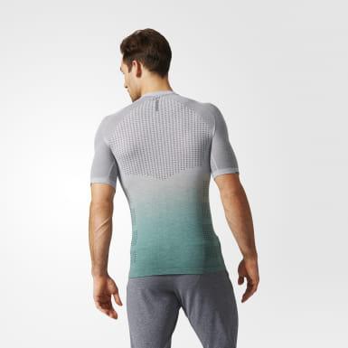 Playera Primeknit Wool Dip-Dye