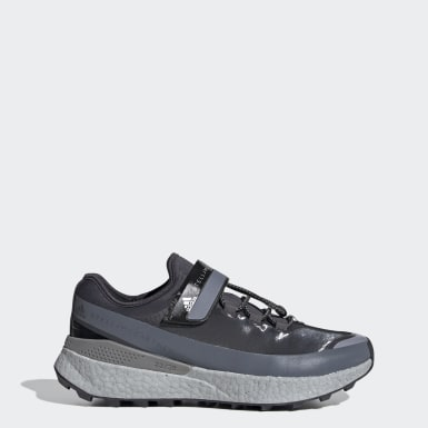 Women adidas by Stella McCartney Grey adidas by Stella McCartney Outdoor Boost RAIN.RDY Shoes