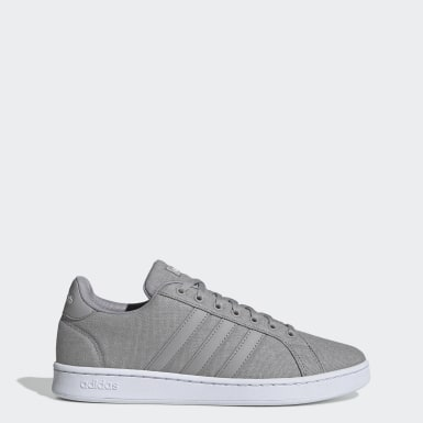 Zapatillas Grand Court Gris Hombre Essentials