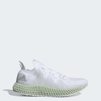 Men Running White Alphaedge4D Shoes