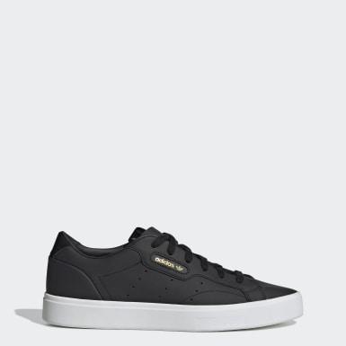 ผู้หญิง Originals สีดำ รองเท้า adidas Sleek