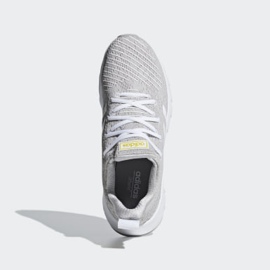 Women Running White Asweego Shoes