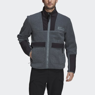 Men Outdoor Terrex Sherpa Fleece Jacket