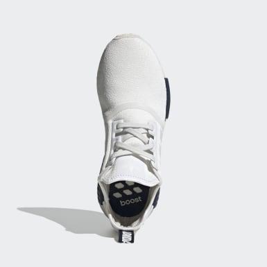 Chaussure NMD_R1 blanc Hommes Originals