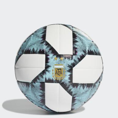 Pelota Top de Entrenamiento Argentina 19 (UNISEX) Blanco Fútbol