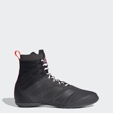 Boxing Black Speedex 18 Boxing Shoes