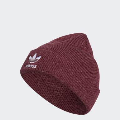 Originals Red Trefoil Beanie