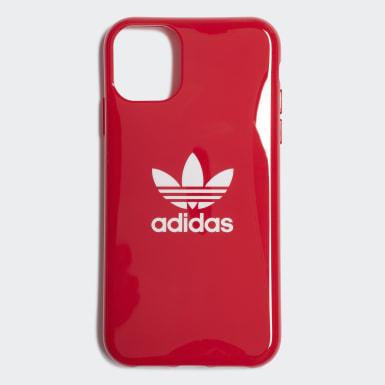Funda iPhone 11 Snap Trefoil Rojo Originals