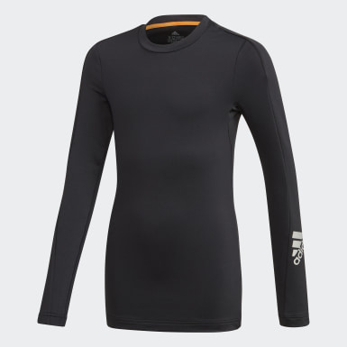 Kinderen Training Zwart Alphaskin Warm AEROREADY Warming Longsleeve