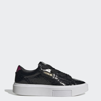 Dames Originals Zwart adidas Sleek Super Schoenen