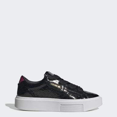 Sapatos adidas Sleek Super Preto Mulher Originals