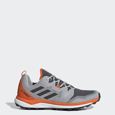 Men TERREX Grey Terrex Agravic Trail Running Shoes