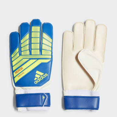 Football Yellow Predator Training Goalkeeper Gloves