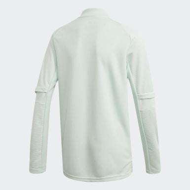 Børn Fodbold Grøn Spain træningssweatshirt