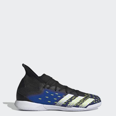 Men Soccer Black Predator Freak.3 Indoor Shoes