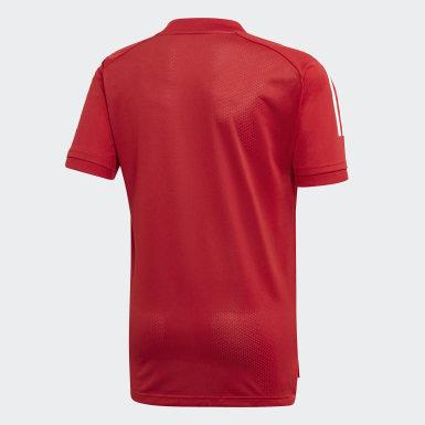 T-shirt da allenamento Condivo 20 Rosso Bambini Training