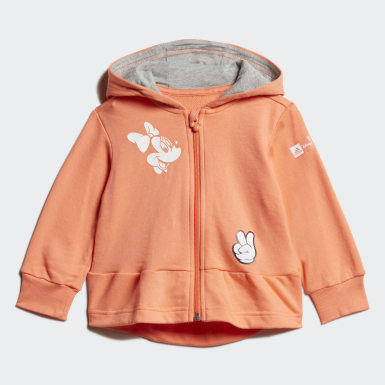 Kinder Training Disney Minnie Maus Jogginganzug Orange