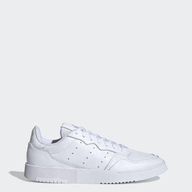 Men Originals White Supercourt Shoes