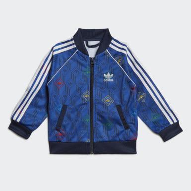 Conjunto chaqueta y pantalón SST Azul Niño Originals