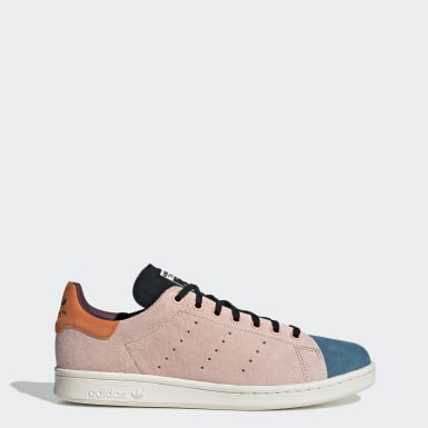 Heren Originals roze Stan Smith Recon Schoenen