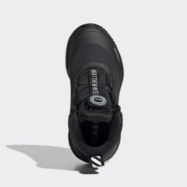 Děti Běh černá Boty Fortarun Running/Hiking 2020