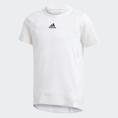 Camiseta HEAT.RDY Blanco Niña Training