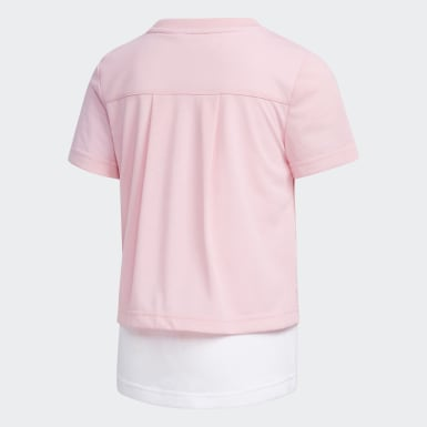 Remera Rosa Niño Training