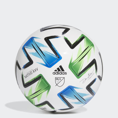 Men's Soccer White MLS Nativo XXV Pro Ball