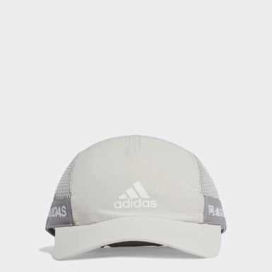 Gorra para correr AEROREADY Gris Training