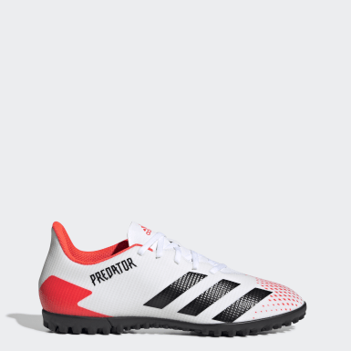 Football White Predator 20.4 Turf Boots