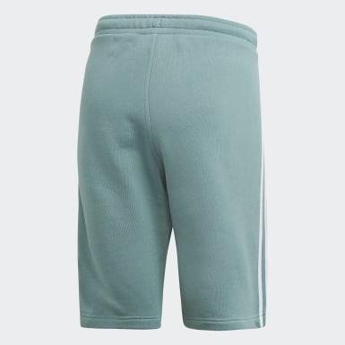 Men Originals Green 3-Stripes Shorts