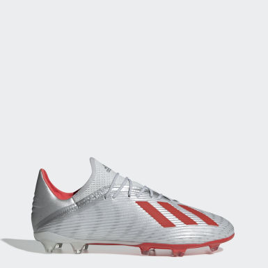 Football Silver X 19.2 Firm Ground Boots