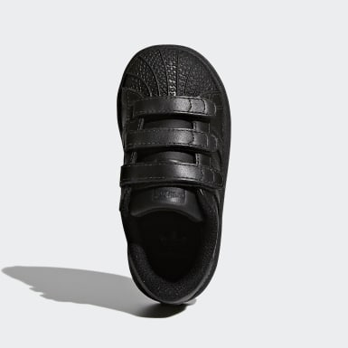 Chaussure Superstar noir Bambins & Bebes Originals