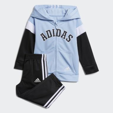 Infant & Toddler Training Blue Hooded Jacket and Joggers Set