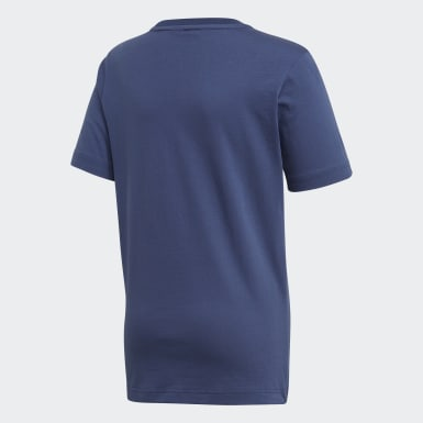 Camiseta  Badge of Sport Must Haves Azul Niño Yoga