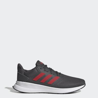 Men Running Grey Runfalcon Shoes