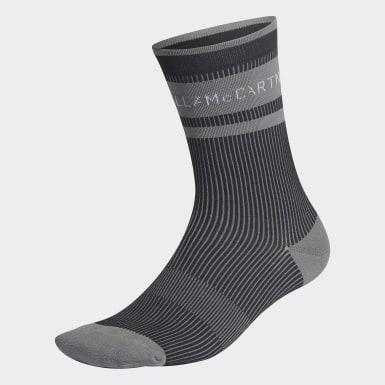 Ženy adidas by Stella McCartney čierna Ponožky adidas by Stella McCartney Crew