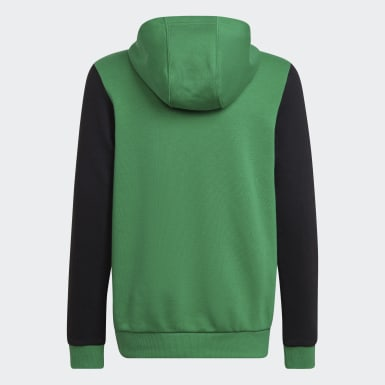 Sudadera con capucha Logo Verde Niño Training