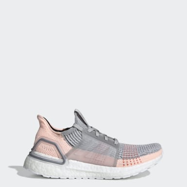 Tenis Ultraboost 19 Gris Mujer Running