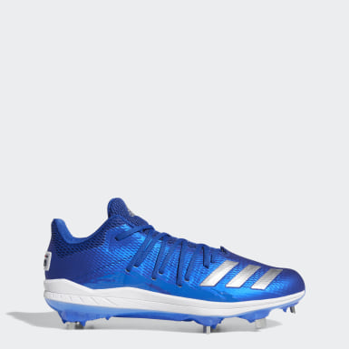 Men's Baseball Blue Afterburner 6.0 Speed Trap Cleats