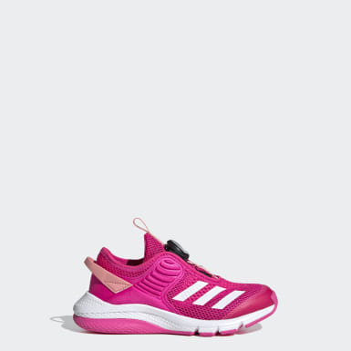 Girls Training Pink ActiveFlex Boa Shoes