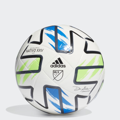 Ballon MLS Nativo XXV Club blanc Hommes Soccer