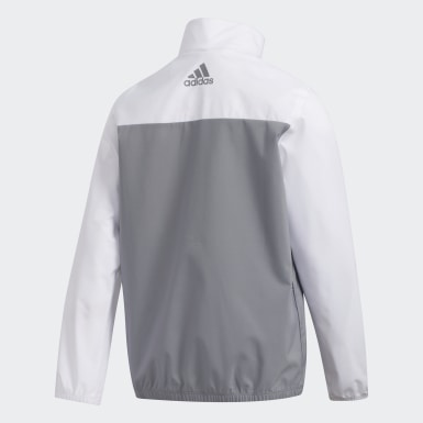 Boys Golf White Provisional Jacket