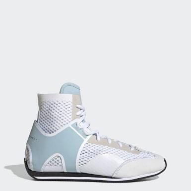 ผู้หญิง adidas by Stella McCartney สีขาว รองเท้านักมวย